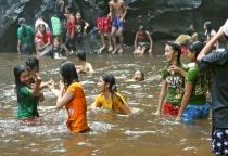SWIMMING IN CAMBODIA